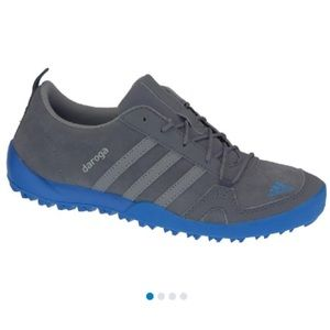 adidas Daroga Lea K Boys Gray Suede Sports Shoes